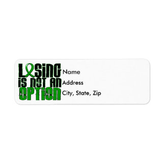 Losing Is Not An Option Traumatic Brain Injury TBI Label