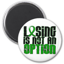 Losing Is Not An Option Traumatic Brain Injury TBI Magnet
