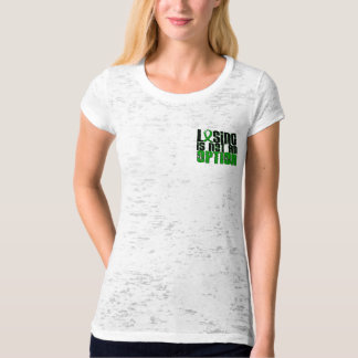 Losing Is Not An Option Traumatic Brain Injury TBI T-Shirt