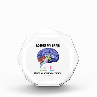 Losing My Brain Is Not An Acceptable Option Award