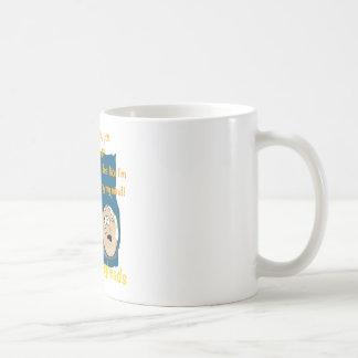 Losing my Mind, funny egghead cartoon gifts Mug