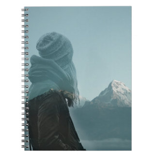 Losing myself in you double exposure photography notebook