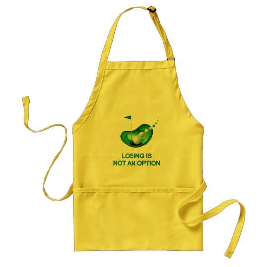 Losing Not An Option Golf Adult Apron