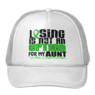 Losing Not Option Lymphoma Aunt Trucker Hat