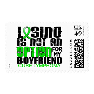 Losing Not Option Lymphoma Boyfriend Stamps