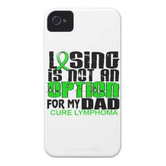 Losing Not Option Lymphoma Dad iPhone 4 Case