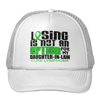 Losing Not Option Lymphoma Daughter-In-Law Trucker Hat