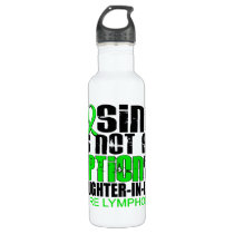 Losing Not Option Lymphoma Daughter-In-Law Stainless Steel Water Bottle
