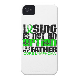 Losing Not Option Lymphoma Father iPhone 4 Case-Mate Case