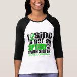 Losing Not Option Lymphoma Twin Sister Tee Shirt