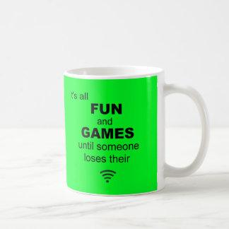 Losing WiFi Internet Coffee Mug - Bright Green