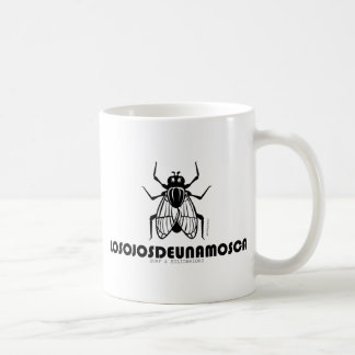 LOSOJOSDEUNAMOSCA CLASSIC WHITE COFFEE MUG