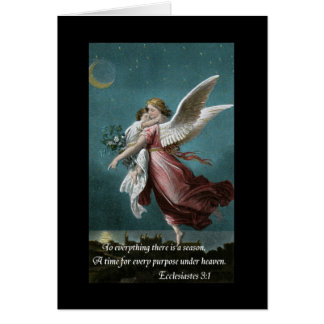 Loss of Child Sympathy Card with Angel