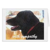Loss of Dog - Pet Sympathy Card