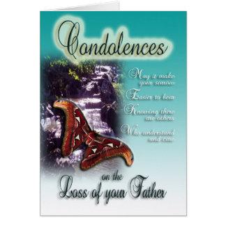 Loss of Father - Condolences Sympathy Card