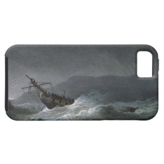 Loss of the Blanche, off Abrevack, 4th March, 1807 iPhone SE/5/5s Case