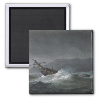 Loss of the Blanche, off Abrevack, 4th March, 1807 Magnet