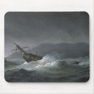 Loss of the Blanche, off Abrevack, 4th March, 1807 Mouse Pad