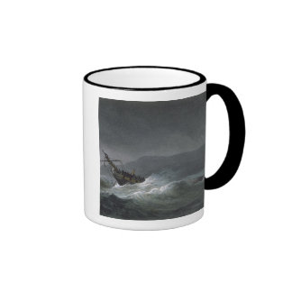 Loss of the Blanche, off Abrevack, 4th March, 1807 Mug