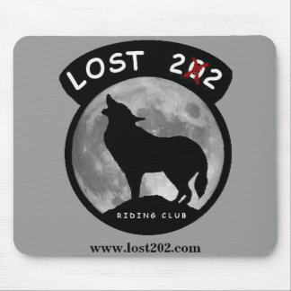 Lost 202 Mouse Pad Gray