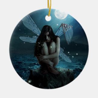 Lost and Broken Fairy Ceramic Ornament