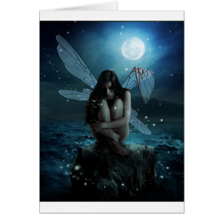 Lost and Broken Fairy Greeting Card