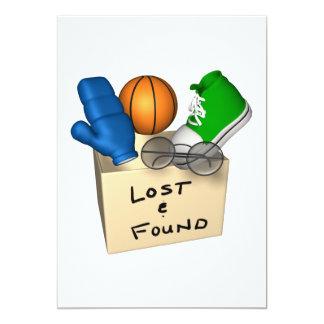 Lost And Found 5x7 Paper Invitation Card