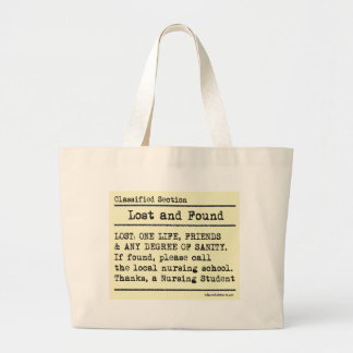 Lost and Found Canvas Bags