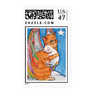Lost and found postage stamp