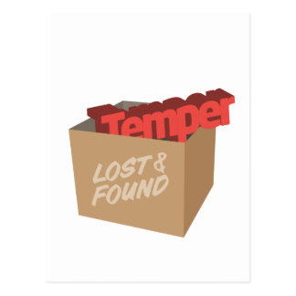 Lost And Found: Temper Postcard