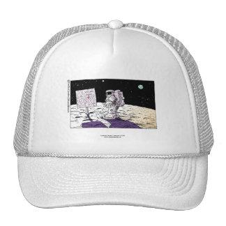 Lost Astronaut Funny Cap Hats
