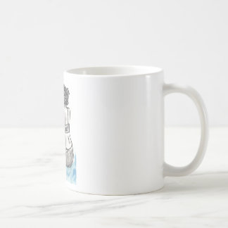 Lost at Sea Classic White Coffee Mug