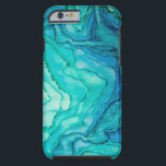 "Lost at Sea iPhone 6 Case<br><div class=""desc"">iPhone 6 case in an amazing aqua and blue-green design.  The sea-like colors are vivid and dreamy!  Truly a gem.</div>"