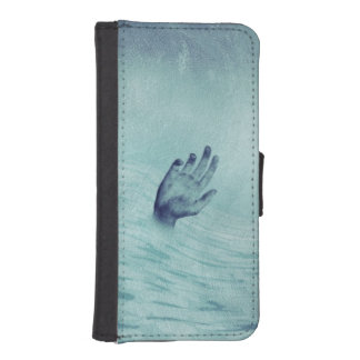 Lost at Sea iPhone SE/5/5s Wallet Case