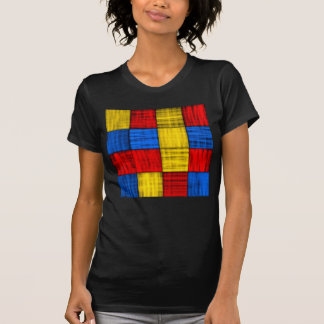 Lost At The Intersection - Colorful Abstract Shirt