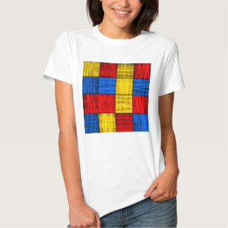 Lost At The Intersection - Colorful Abstract T-shirt