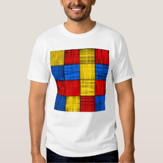 Lost At The Intersection - Colorful Abstract T Shirt