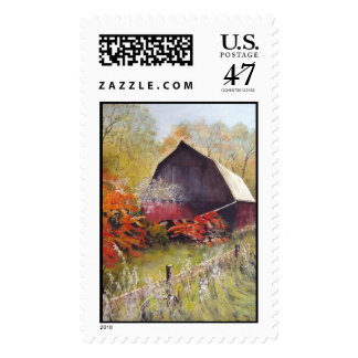 Lost Barn- stamps