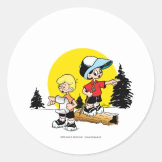 Lost Boys Classic Round Sticker
