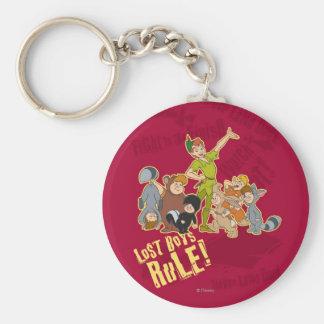 Lost Boys Rule Basic Round Button Keychain