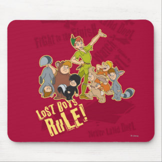 Lost Boys Rule Mouse Pad