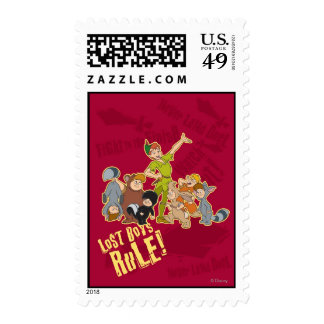 Lost Boys Rule Postage Stamps