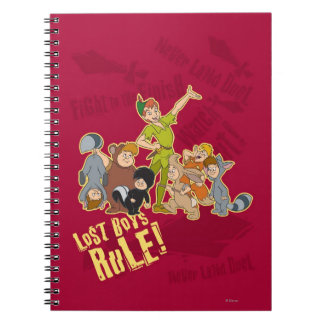 Lost Boys Rule Spiral Notebook