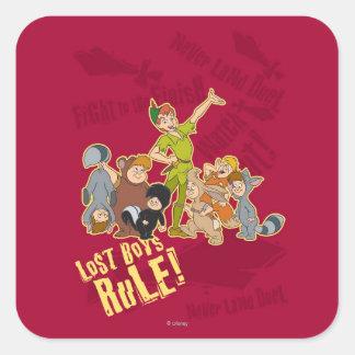 Lost Boys Rule Square Sticker