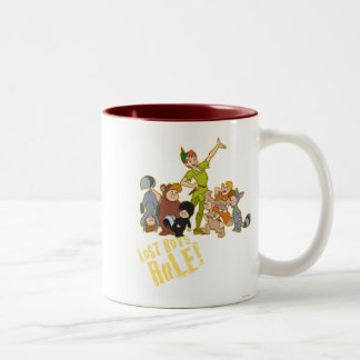 Lost Boys Rule Two-Tone Coffee Mug