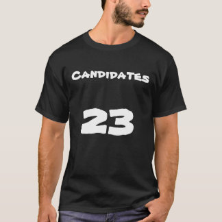 Lost Candidate's Jersey Shirt