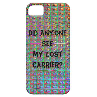 Lost Carrier iPhone 5 Cover