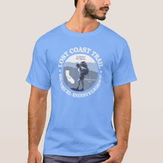 Lost Coast Trail (rd) T-Shirt