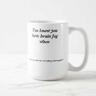 Lost Concentration Coffee Mug