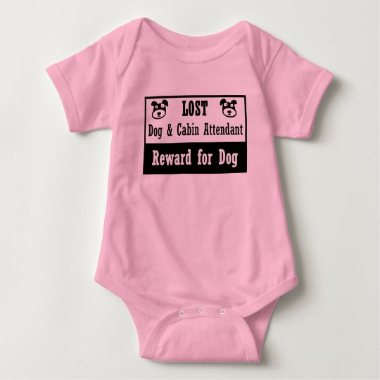 Lost Dog 10 Baby Bodysuit